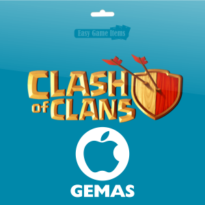 Gemas Clash of Clans Apple