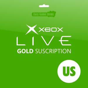 Xbox Live GOLD Suscription US